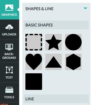Cómo insertar un bloque en una infografía
