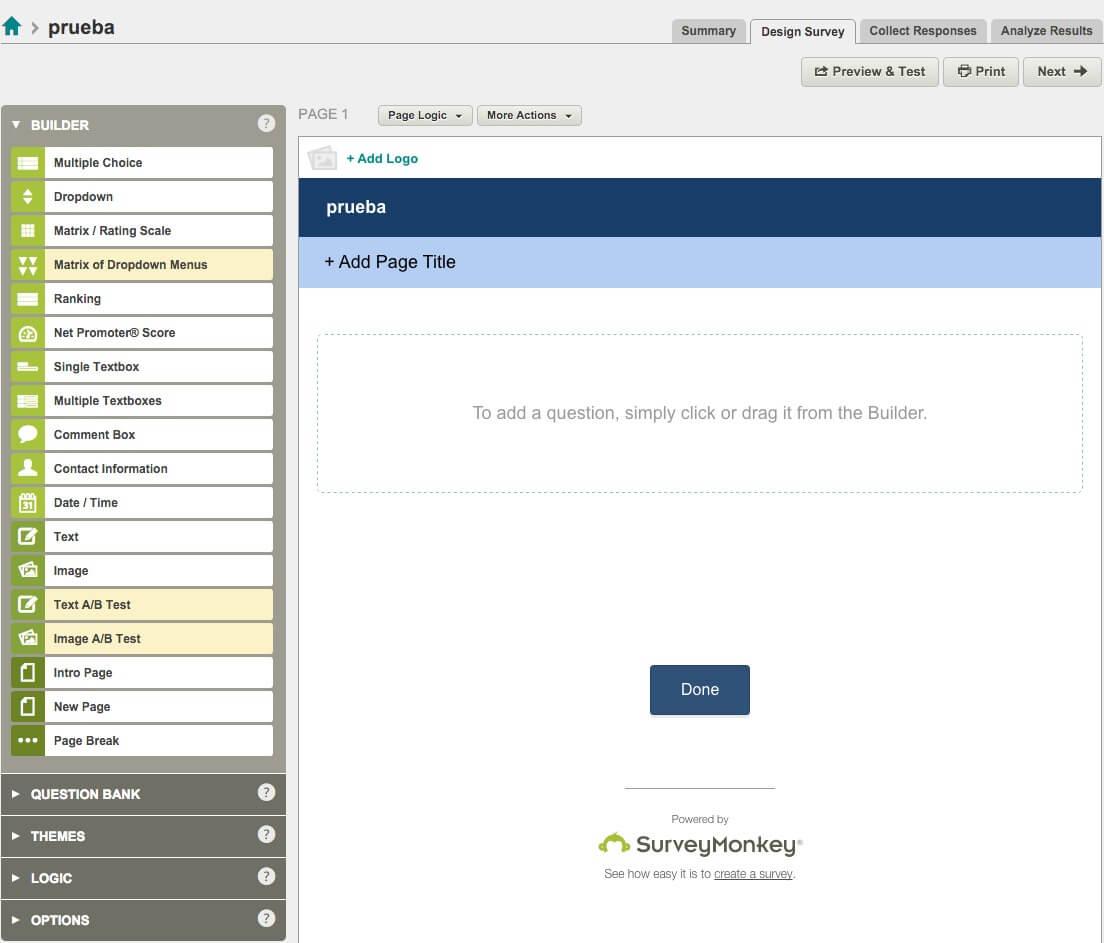 SurveyMonkey para conocer a los lectores de tu blog