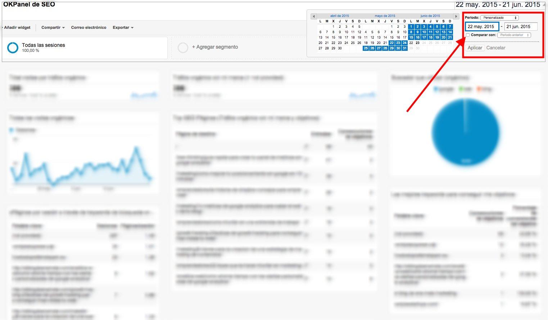 Seguimiento de tu progreso en SEO con Analytics