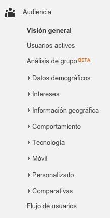 Conocer a los lectores de tu blog con los demográficos de analytics