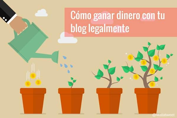 Cómo Ganar Dinero con tu Blog Legalmente