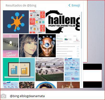 Bing el robot hacker de Telegram