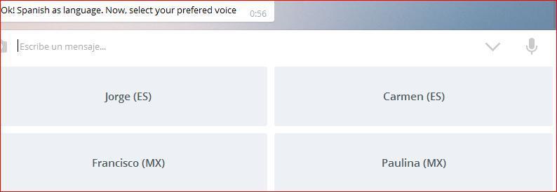 Bots de voz en Telegram