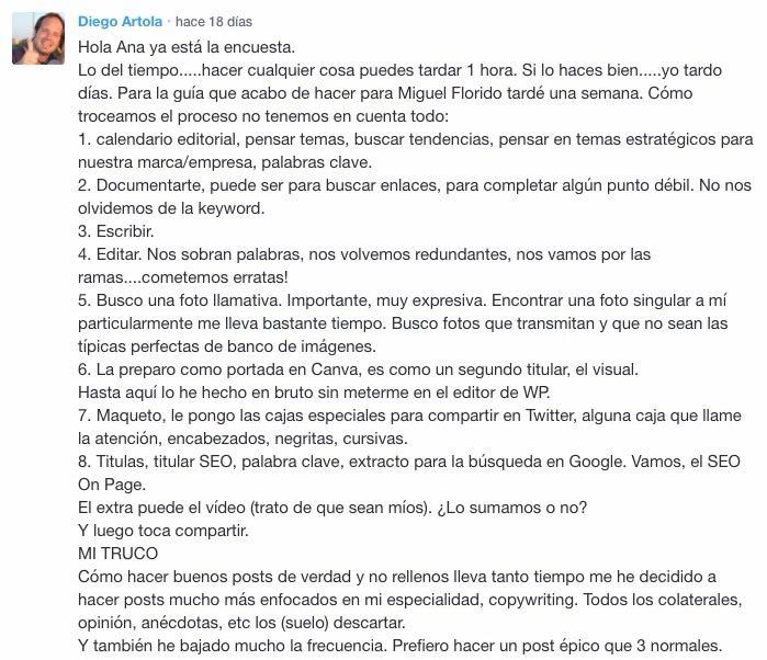 Diego Artola, el crack de los comentarios