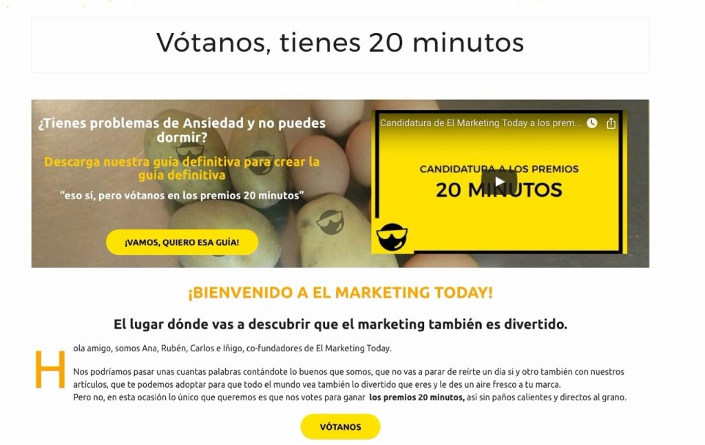 Lead Magnet de El Marketing Today